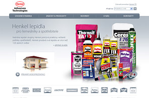 Screenshot of presentation Henkel lepidla