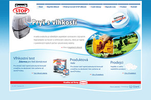 Screenshot of presentation Henkel Stop Vlhkosti